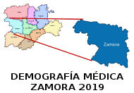 Demografía Médica de Zamora 2019